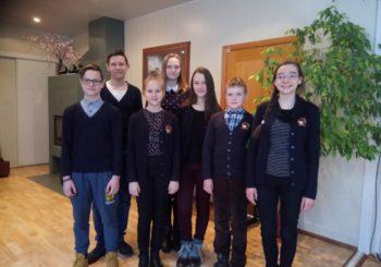 """6-7-8 klasių mokinių savivaldybės VII geografijos olimpiada """"MANO GAUBLYS"""""""