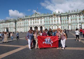 Išvyka į Sankt Peterburgą