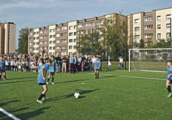 """Atgimimo"""" mokykla laimėjo Sporto rėmimo fondo projektą"""