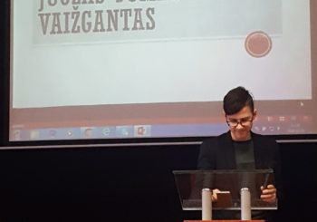 Mokinių konferencija, skirta  Juozo-Tumo Vaižganto 150-osioms gimimo metinėms