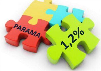 1.2 proc. parama mokyklai